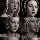Wives of Henry VIII from the Wax Museum