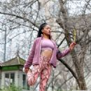 Keke Palmer – Working out in Central Park