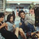 Coyote Shivers, Liv Tyler, Johnny Whitworth and Dianna Miranda in Empire Records (1995) - 420 x 284