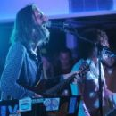 Lead singer Chris Robinson of the music group Chris Robinson Brotherhood performs on stage at Luxury Infinity Yacht on June 6, 2014 in New York City