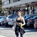 Sarah Hyland – Wearing gym clothes in Los Angeles