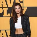 Emily Ratajkowski – Opening Night of Slave Play at the Golden Theatre in New York