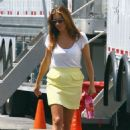"Kate Walsh: on the set of ""Private Practice"" in West Hollywood"