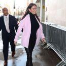 Stephanie McMahon – Arrives at BBC studio in London