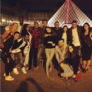Blac Chyna Tyga Double Date With Kourtney Kardashian and Scott Disick in Paris - May 25, 2014
