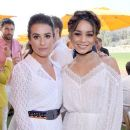 Vanessa Hudgens attends the Seventh Annual Veuve Clicquot Polo Classic, Los Angeles at Will Rogers State Historic Park on October 15, 2016 in Pacific Palisades, California - 389 x 600