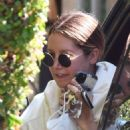 Ashley Tisdale – Looks sporty while visits her mom in Toluka Lake