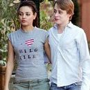 Macaulay Culkin and Mila Kunis