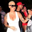 Blac Chyna, Amber Rose, and James Harden at 1 Oak Nightclub in West Hollywood - September 15, 2015