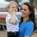 The Duke & Duchess of Cambridge Visit the Royal International Air Tattoo - 417 x 600