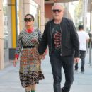 Salma Hayek and Francois-Henri Pinault are spotted out at a doctors office in Beverly Hills, California on August 29, 2016 - 447 x 600