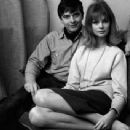 Jean Shrimpton and David Bailey