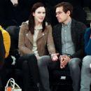 Rachel Brosnahan and Jason Ralph – Boston Celtics vs New York Knicks game - 454 x 570