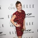 Actress Sasha Alexander attends ELLE's Annual Women in Television Celebration on January 13, 2015 at Sunset Tower in West Hollywood, California. Presented by Hearts on Fire and Olay