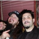 Dimebag & Rita with Charlie Benante - 454 x 346