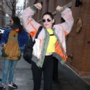 Rose McGowan at The View in NYC - 454 x 630