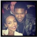 Monica and Usher Raymond - 227 x 222