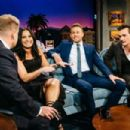 Demi Lovato, Charlie Hunnan and Rupert Friend on  'The Late Late Show with James Corden' in Los Angeles - 454 x 303