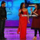 Salman and Katrina on the Sets of Big Boss at lonavala