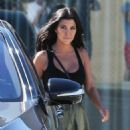 Kourtney Jenner is spotted at Smashbox Studios in Culver City, California on September 29, 2015