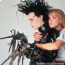 Johnny Depp As Edward Scissorhands And Winona Ryder As Kim In Edward Scissorhands (1990)