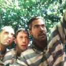 John Turturro, Tim Blake Nelson and George Clooney in Touchstone Pictures'/Universal Pictures' drama O Brother, Where Art Thou - 2000