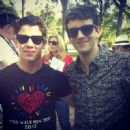 Nick Jonas took part in the 2012 Annual AIDS Walk in New York City yesterday, May 20