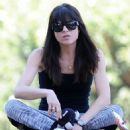 Selma Blair At A Park In Studio City