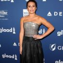 Lea Michele – 2018 GLAAD Media Awards in New York - 454 x 681