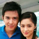 Alex Castro and Kim Chiu