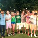 Taylor on the set of 2013 summer film, Grown Ups 2