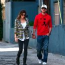 Jessica Biel Out And About In Studio City, May 23, 2010