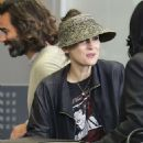 Winona Ryder at LAX airport in Los Angeles
