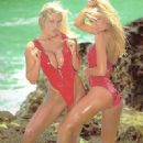 Janine Lindemulder and friend calendar 1992 - 328 x 488