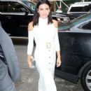 Jenna Dewan Tatum in White Dress out in New York City - 454 x 653