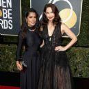 Salma Hayek and Ashley Judd – 2018 Golden Globe Awards in Beverly Hills