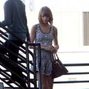 Taylor Swift Leaving A Medical Building In La