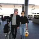 Kate Bosworth and Michael Polish – Arrives at LAX airport in LA