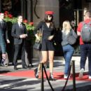 April Love Geary – Arrives at the Costes hotel in Paris - 454 x 303