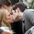 Penn Badgley surprises girlfriend and