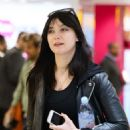 Daisy Lowe – Arriving at Heathrow Airport in London - 454 x 681