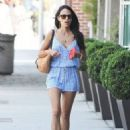 'Fast & Furious' star Jordana Brewster spotted out running errands in Los Angeles, California on September 6, 2015