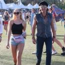 Richie Sambora and Ava Sambora at Day 3 of first weekend of The Coachella Valley Music and Arts Festival in Coachella, California on April 11, 2015 - 454 x 593