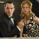 Jean Dujardin and Louise Monot