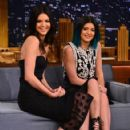 "Kendall Jenner and Kylie Jenner visit ""The Tonight Show Starring Jimmy Fallon"" at Rockefeller Center on June 4, 2014 in New York City"
