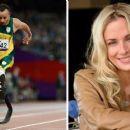 Oscar Pistorius and Reeva Steenkamp - 454 x 255