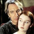Alan Rickman and Georgina Cates