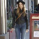 Isabel Lucas - Out & About in Los Feliz - 01/12/10