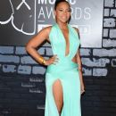 Ashanti attends the 2013 MTV Video Music Awards at the Barclays Center in the Brooklyn borough of New York City