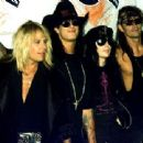 Motley Crue at the 1990 MTV Awards - 454 x 340